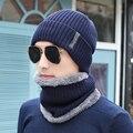 [Dexing] rosto cachecol máscara à prova de vento frio gorros para os homens de inverno ao ar livre cap chapéu de malha térmica espessamento twinset quente lenços