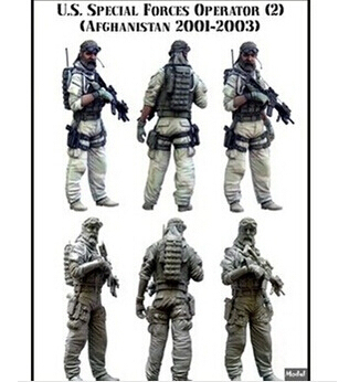 Scale Models 1/35 US special forces in Afghanistan B section Resin Model Free Shipping