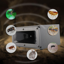 DXBQYYXGS NEW Strong Electronic Ultrasonic Mouse Killer mice Cockroach Trap Mosquito Pest Repeller Insect Rats Spiders Control