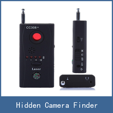 Newest Multi Wireless Radio Wave Signal RF GSM Device Spy Pinhole Hidden Camera Lens Sensor Scanner Detector Finder CC308+(China)