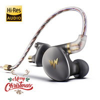 W Здравствуйте Hi zzer A HE03 Juicy Bass Наушники Здравствуйте Fi Здравствуйте Res гарнитуры гибридный 2 Ноулз арматура прозрачный теплый звук металличе