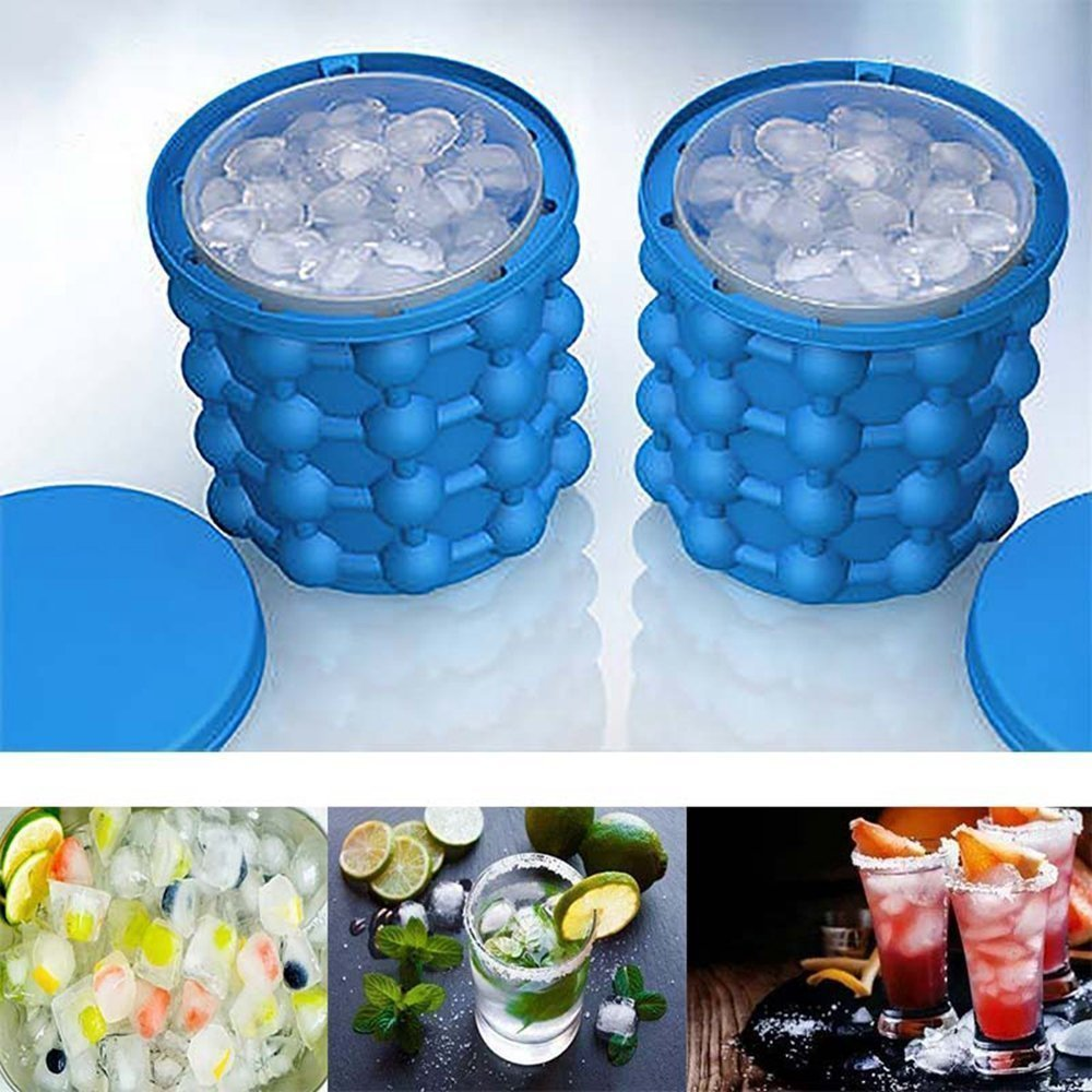 Ice Cube Maker Genie The Revolutionary Space Saving Ice Cube Maker Ice Genie Kitchen Tools цена