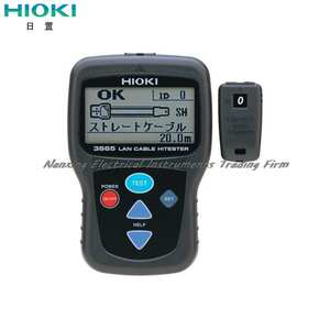 Fast arrival HIOKI 3665-20 Optical communications cable tester LAN TESTER