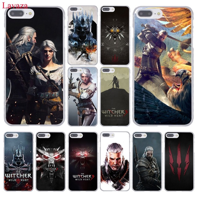 912c22d9e30d Lavaza The Witcher Wild Hunt Hard Phone Case for Apple iPhone XR XS Max X 8  7 6 6S Plus 5 5S SE 5C 4S 10 Cover 7Plus 8Plus Cases