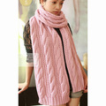 2014 Hot women's fashion Winter cute wool mohair Warm long scarves Knitted scarf 4 Colors D3258