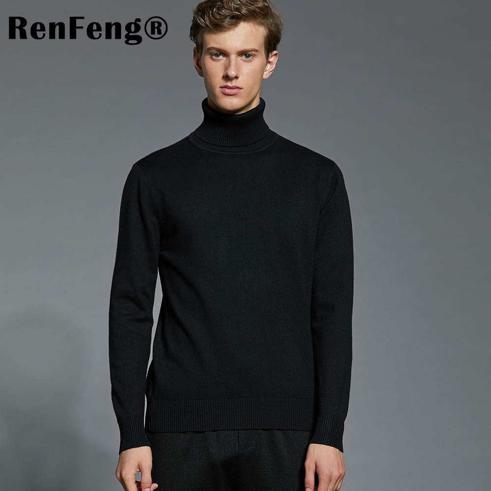 Winter Thick Warm Cashmere Sweater Men Turtleneck Mens Sweaters Plus Size Pullover Man Classic Wool Knitwear Thermal Pull Homme (14)
