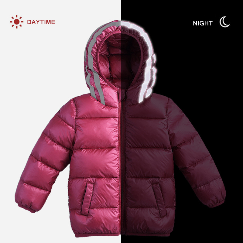 Winter Children Coat Thicker 90% White Duck Down Jacket Boys Girls Warm Clothing Waterproof Hooded Toddler Baby Kids Outerwear kids winter down long jacket boys girls 90% white duck down coat children fox raccoon fur hooded baby thick warm clothes suit