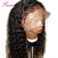 Water Wave Lace Front Wigs Pre Plucked Lace Front Human Hair Wigs With Baby Hair Brazilian Remy Front Lace Wigs For Black Women