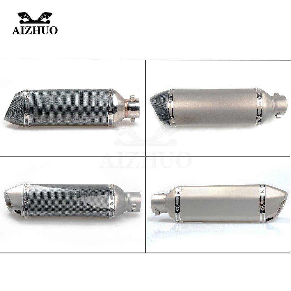 Motorcycle Exhaust pipe Muffler Escape DB-killer 36MM-51MM FOR KAWASAKI Z900 ER6-F Z650 VERSYS 1000 Z800 Z1000 Z750 Z250 Z300