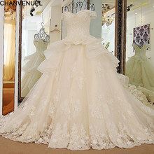 6db99be037e LS32588 2018 New Bandage Tube Top Lace Luxury Wedding Dress Bridal ball gown  sexy wedding dresses vestido de noiva Robe Mariage
