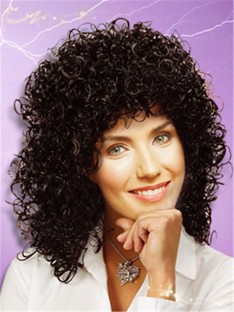 Gabrielle Curly Costume Wig Popular Synthetic Fiber Cosplay Wigs Newest Fashion Costume Wigs 2014 Hot Selling Online 033 halloween festival party cosplay wigs man pirates of the caribbean wigs brown long braid cosplay wigs hot sale online 017