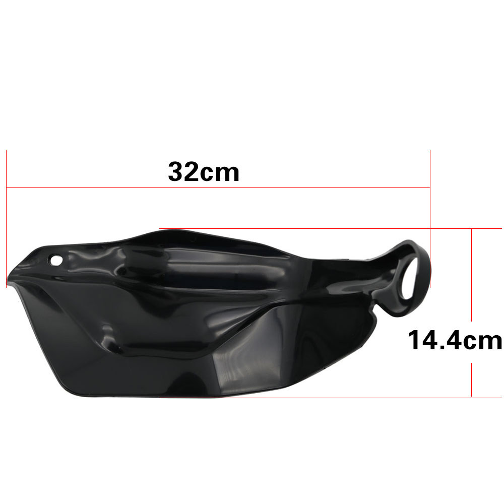 For BMW R 1200 GS ADV F800 GS Adventure S1000XR Handguard Hand Shield Protector Windshield Black 2013 2014 2015 2016 2017 2018 (2)