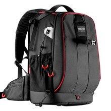 Neewer Pro Чехол для Камеры водостойкий противоударный Регулируемый мягкий сумка рюкзак для камеры с противоугонным комбинированным замком
