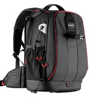 Neewer Pro Camera Case Waterproof Shockproof Adjustable Padded Camera Backpack Bag with Anti theft Combination Lock