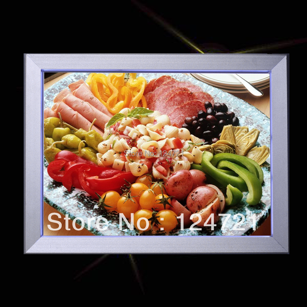 где купить 2016 new innvention super slim display a2 led light box frame for the restaurant menu 6Pcs/lot по лучшей цене