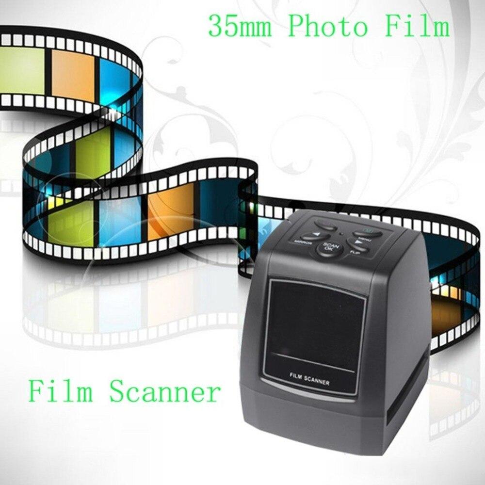 Мм 3600 точек/дюйм/1800 точек/дюйм Разрешение фото и слайд 35 мм пленка Printe сканер цифровой USB пленка конвертер 2,36 ЖК светодио дный экран светодио