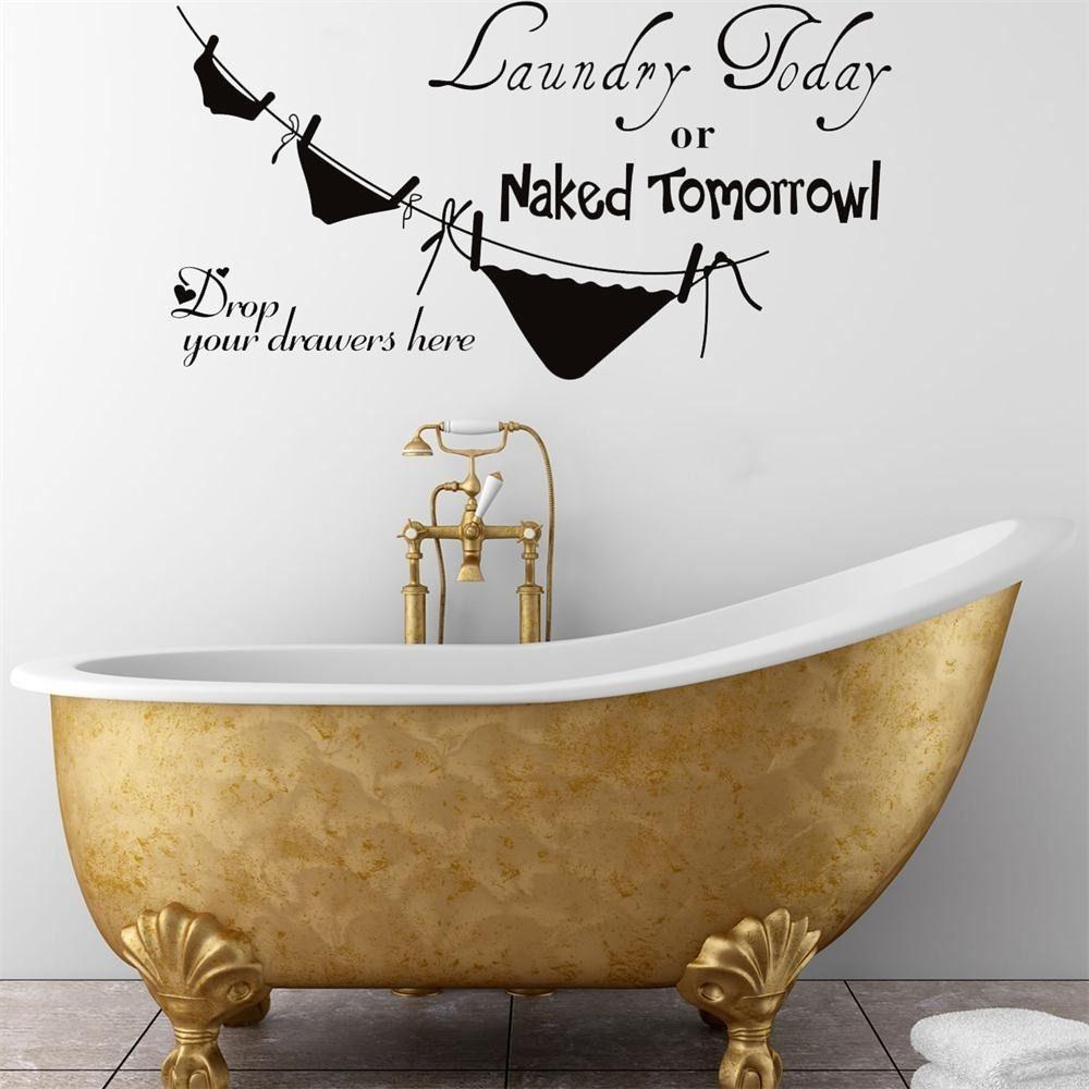 Online kopen wholesale badkamer vinyl decals uit china badkamer ...