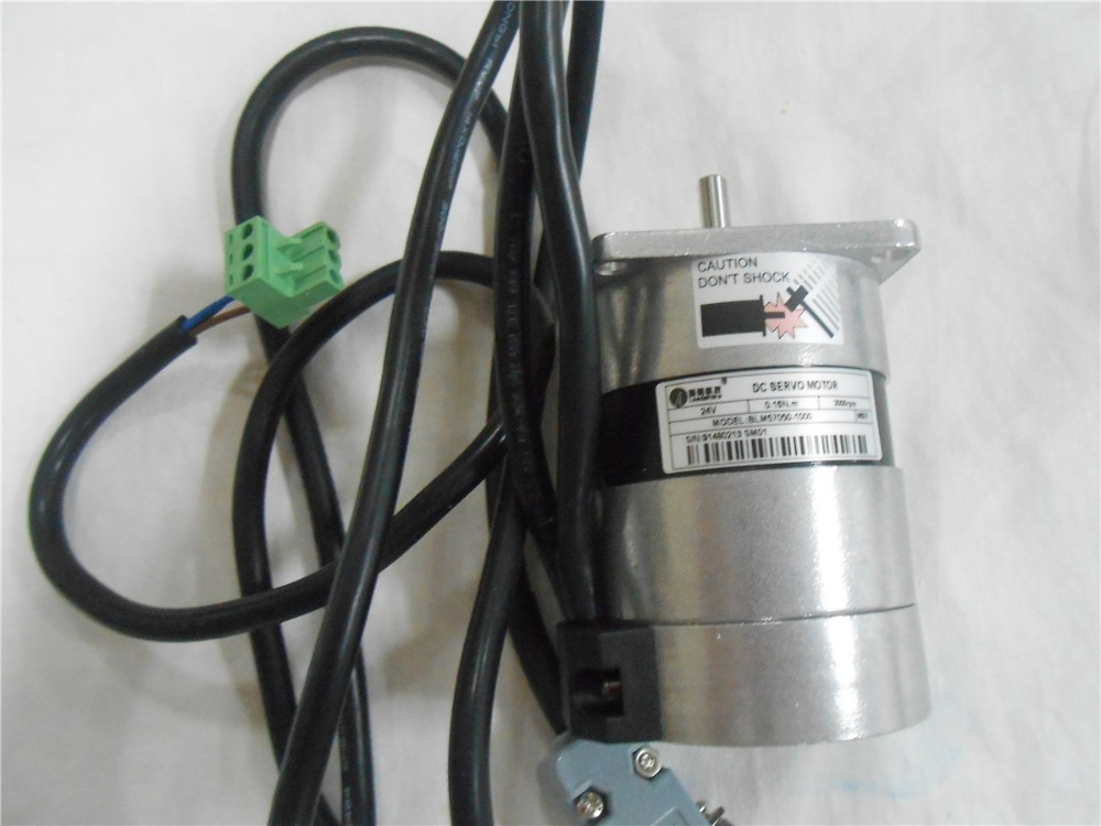 Leadshine 36V DC Brushless Motor BLM57090 90W Servo Brushless Motor 0.29N.M 3000rpm New atemi apb 17 16