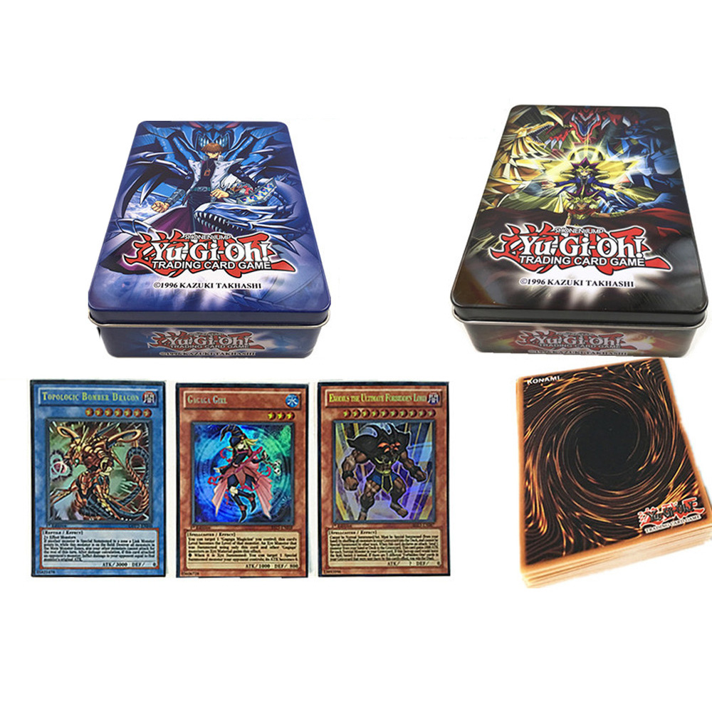 60PCS/Set Yugioh English Rare Flash Cards Yu Gi Oh Game Paper Cards Kids Toys Girl Boy Collection Cards Christmas Gift
