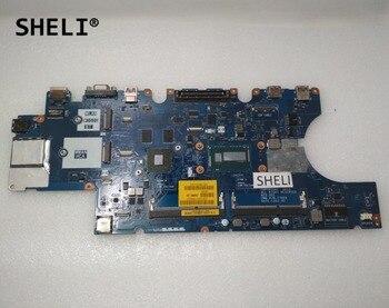 SHELI CN-0W6XR4 0W6XR4 W6XR4 For Dell E5550 Motherboard with I5-4210U LA-A911P