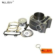 XLJOY 180cc Cylinder 61mm Big Bore Kit For GY6 125cc 150cc 1P52QMI 1P57QMJ Engine 180cc Scooter ATV Quad