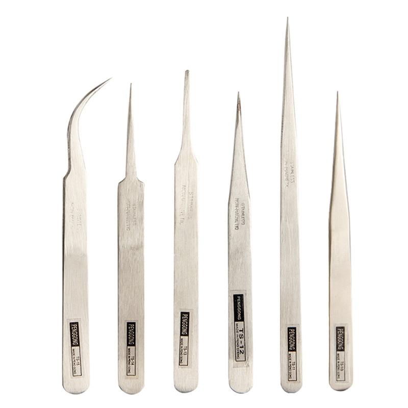 6 vnt elektronikos žnyplės Replės Cheminiai medicininiai - Rankiniai įrankiai - Nuotrauka 1