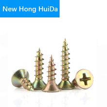 Phillips Cross Recessed Flat Head Fibreboard Drywall Countersunk Self-Tapping Screws Wood Hardware Tool Carbon Steel M3.5 M4 M5 free shipping gb846 316 stainless steel flat head self tapping ka screws m4 m5 m6 philips hot sale new style 2017