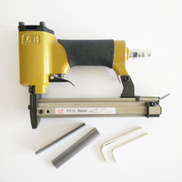 Pneumatic Nailer Gun Air staple pin Stapler Nail Gun Tools for photo frame tacker P515 For wooden with 500 nails