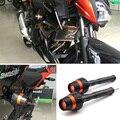 Para KAWASAKI Z250 ABS 2013-2015 Naranja Nuevo Diseño Motocicleta Sliders Crash Protector Protección Falling