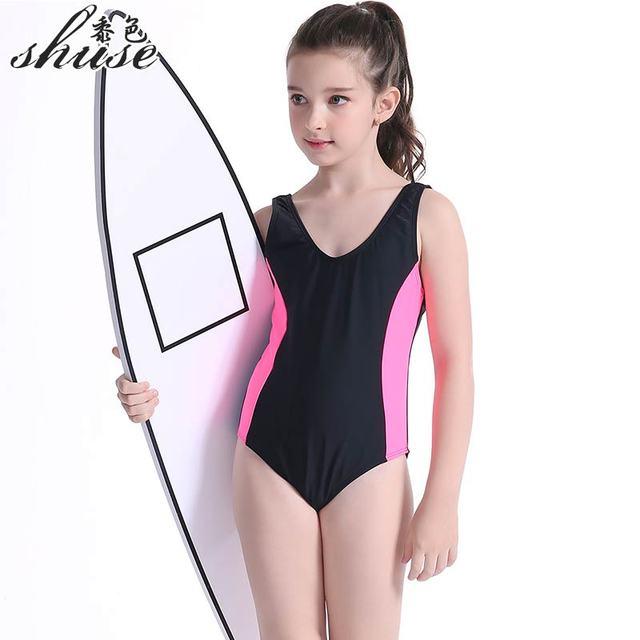 6fd125f5e0 Enfant maillot de bain de sport Une Pièce Filles Maillots De Bain Enfants  Maillots de bain