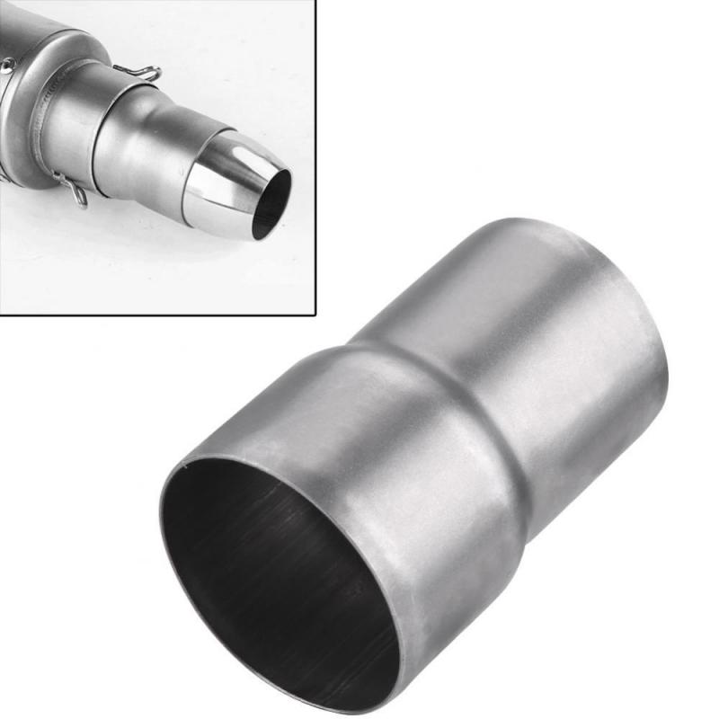 US $6 24 32% OFF|New Stainless Steel 51mm to 60mm Motorcycle Exhaust Pipe  Adapter Reducer Muffler Connector-in Exhaust & Exhaust Systems from
