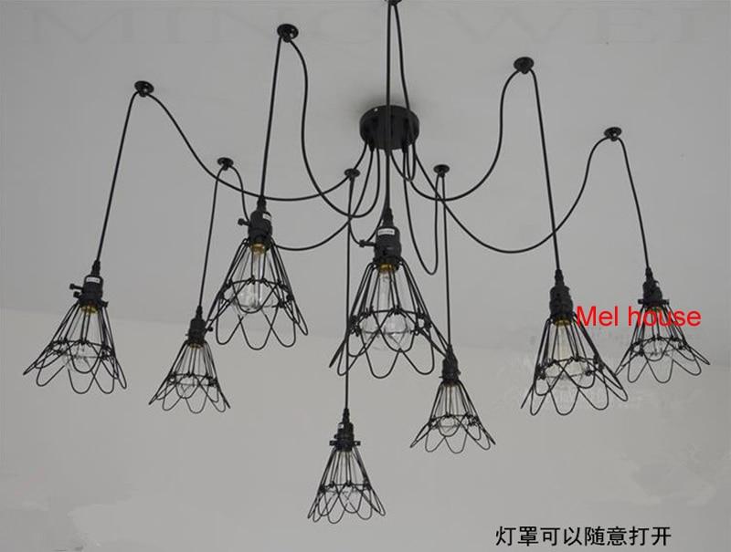 Plafoniere Retrò : Vintage lampada da soffitto industriale edison luce plafoniere