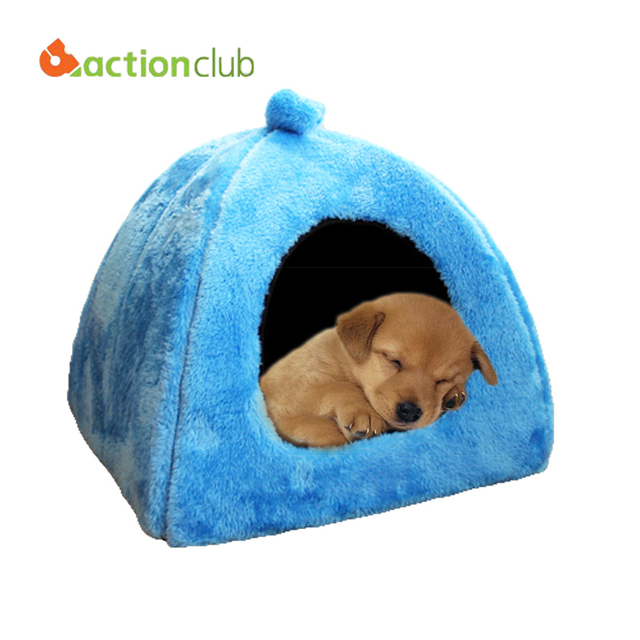 Actionclub On Sell Doghouse Lovely Soft Pet Products New Arrival Dog Bed Free Shipping Pet House Cute Animal House HP008