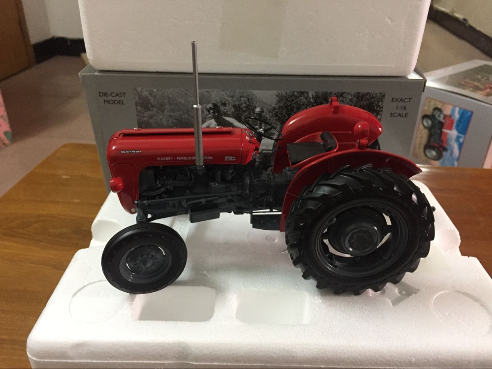 New Arrived!! Universal Hobbies AGCO Massey Ferguson 35X Tractor 1/16 UH2692 loral agco parts books original catalog 2017