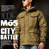 M65 UK US Men Autumn Flight Pilot Coat Army Clothes Casual Tactical Hoodie Military Field Jacket