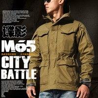 M65 UK US Men Autumn Flight Pilot Coat Army Clothes Casual Tactical Hoodie Military Field Jacket Windbreaker Waterproof Jackets