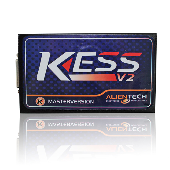 Prix pour Haute Qualité KESS V2 2.30 OBD2 Gestionnaire Tuning Kit Kess V2 maître aucun jeton limitée + ecm titanium v1.61 avec 26000 + pilote