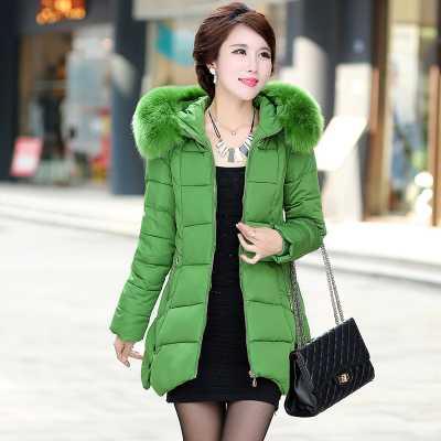 Winter Jacket Women 2016 Fashion Winter Coat Women Fur Hooded Coats Women Slim Parkas Warm Female Outerwear A4358 цены онлайн