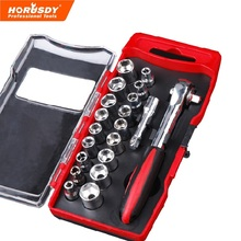 HORUSDY 20 in 1 Ratchet Socket Wrench Set