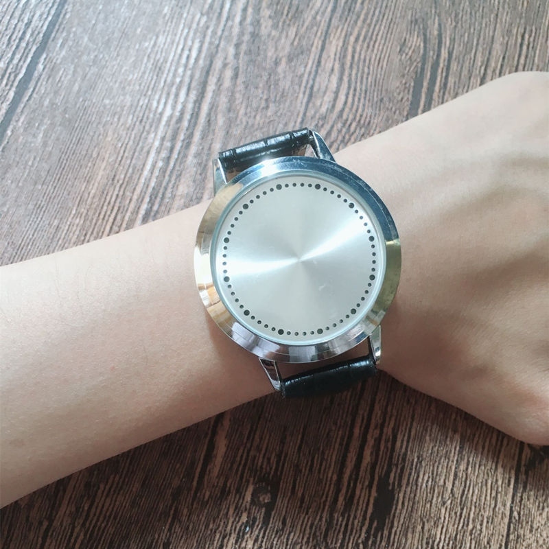 HTB14KEUwMaTBuNjSszfq6xgfpXab - New Casual Fashion Elegant Lady Quartz Bracelet Women Wristwatch LED Jewel Lucky Clover Stainless Steel Case Montre Femme