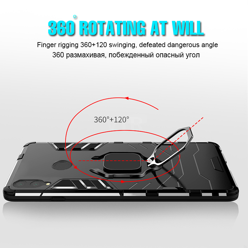 Luxury Magnetic Ring Case On The For Huawei Honor 8x MAX Phone Cover For Huawei P20 Pro P20 Lite Case Shockproof Holder Cases