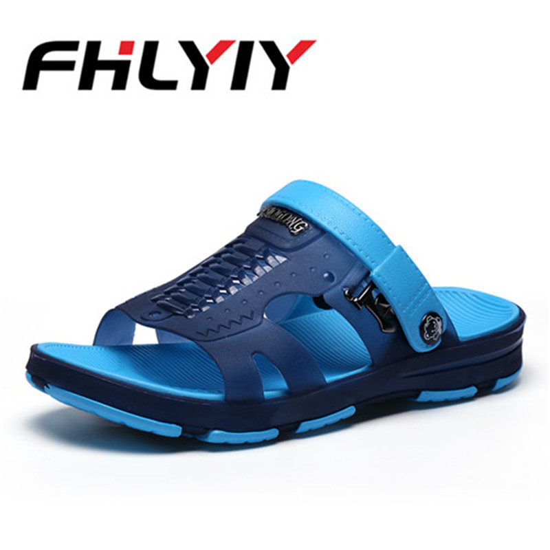 Summer Mens Garden Sandals Casual Fashion Non Slip Sandals For Men, Mens Lightly Breathable Shoes Big Size FHLYIY
