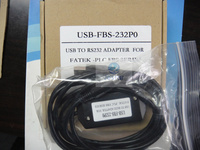 USB FBS 232P0 USB FBS 232PO USB Port Program Cable For FATEK FBs PLC