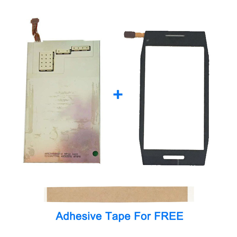 4.0 Inch For Nokia X7 X7-00 LCD Display With Touch Screen Glass Replacement Repair Parts With Adhesive Tape4.0 Inch For Nokia X7 X7-00 LCD Display With Touch Screen Glass Replacement Repair Parts With Adhesive Tape