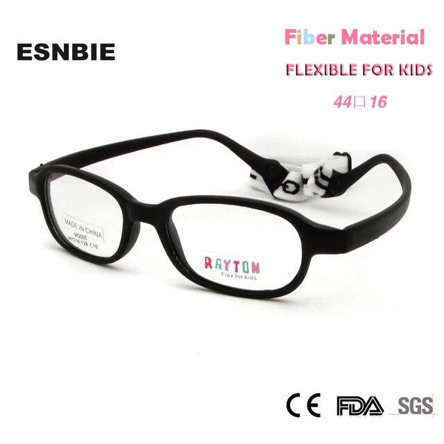 ESNBIE New Kids Carbon Fiber Eyeglasses Frames Stylish Safety ...