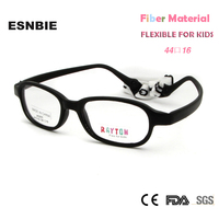 Free Shipping With One Case Free New Material Fiber Safety Flexible Fashion Toddler Kids Eyeglasses Frames