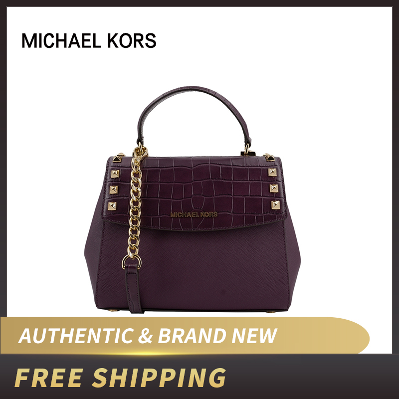 Aliexpress.com : Buy Michael Kors KARLA Medium Top Handle Embossed Leather  satchel Crossbody Bag 35F8GKGS6L from Reliable Shoulder Bags suppliers on  CLIM ...
