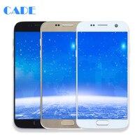 ЖК дисплей Дисплей для Samsung Galaxy S7 G930 G930F Сенсорный экран мобильного телефона ЖК дисплей S дигитайзер сборки Запчасти для авто с Инструменты