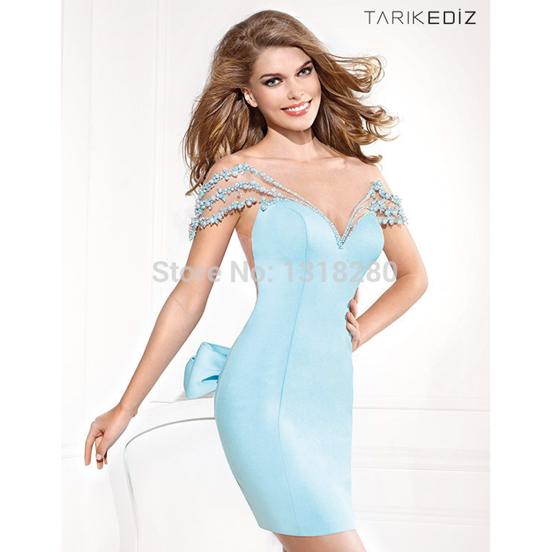 Light Blue Cocktail Dresses Promotion-Shop for Promotional Light ...