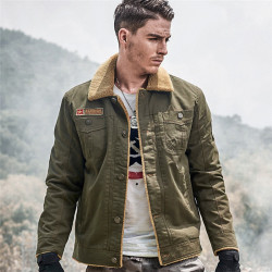 Men Jacket Coats Winter Military 7